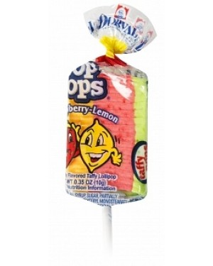 Top Pops Strawberry-Lemon Taffy Pops