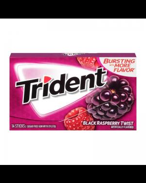 Trident Black Raspberry Gomme Da Masticare Alla Mora