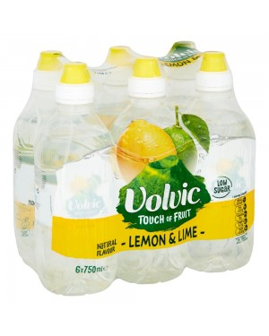 Volvic Touch Of Fruit Lemon & Lime Sportscap