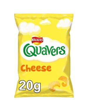 Quavers cheese , ricci di formaggio 20g