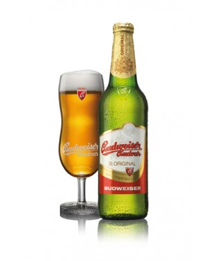 Budweiser Bud B: Strong Original Czech Imperial Larger 0.33L