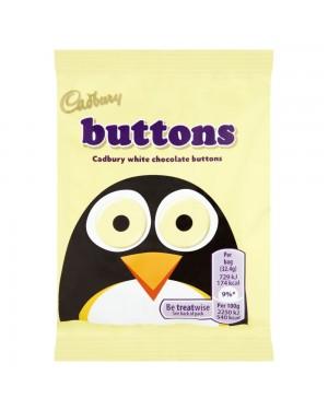Cadburys White Button 32,4gr
