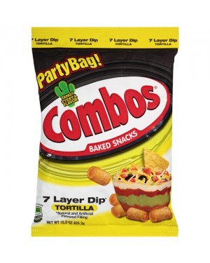 Combos 7 Layer Dip Tortilla 170gr