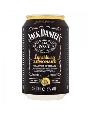 Jack Daniels & limonata 330ml