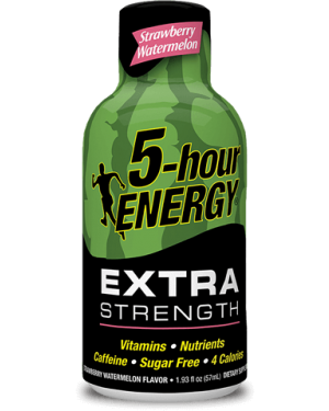 5Hrs Energy Watermelon Bevanda Super Energetica Gusto Anguria 57Ml