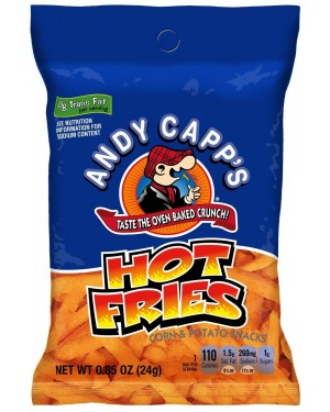 Andy Capp Hot Fries Patatine Al Formaggio Piccante 24,5G