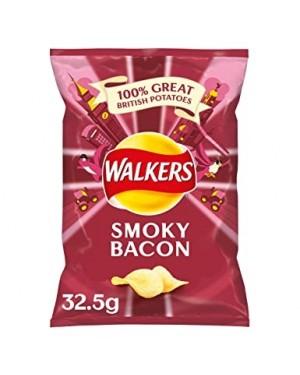 WALKERS SMOKEY BACON 33G
