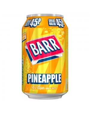 Barr Pineapple 330Ml Bevanda Frizzante All'Anans