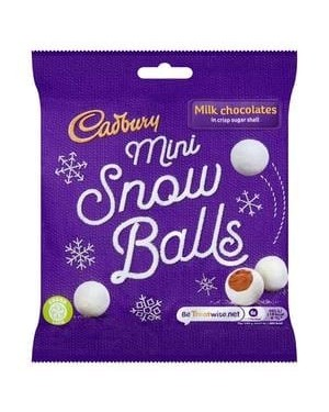 Cadbury mini snow balls