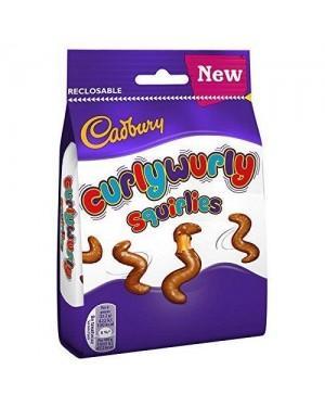 Cadbury Curly Wurly Squirlies Bag 110g
