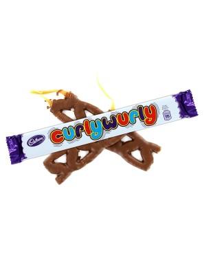 Cadbury Curly Wurly Treccia Di Caramello Croccante Ricoperto Di Cioccolato Al Latte 27G