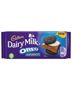 Cadbury Dairy Milk Oreo Sandwich 92g