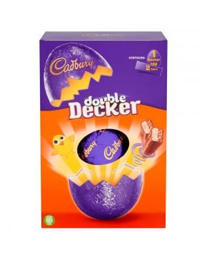 Cadbury Double Decker Egg Single 287G Uovo Di Pasqua Al Cioccolato Con Barrette Di Caraemello Cereali
