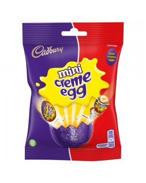 Cadbury Mini Egg Bag 80G Ovetti Di Pasqua Ripieni Di Cioccolato Al Latte
