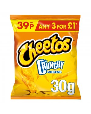 Cheetos Crunchy Cheese Snacks 30g