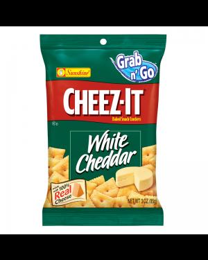 Cheez It Crakers Di Formaggio Cheddar Bianco Salati Busta Grande 85G