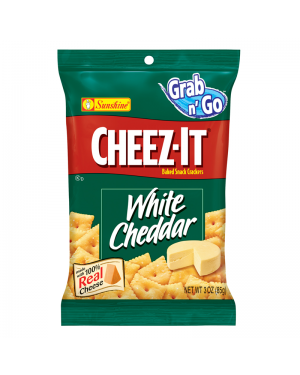 Cheez It White Cheddar 3oz (85g) BIG BAG