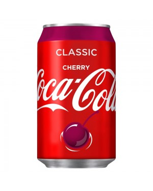 Coca cola ciliegia 330ml
