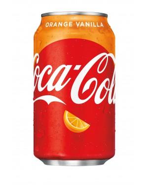 Coca cola arancio vaniglia 330 ml