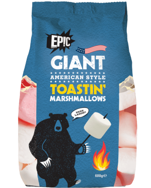 EPIC GIANT TOASTIN MALLOWS 600G