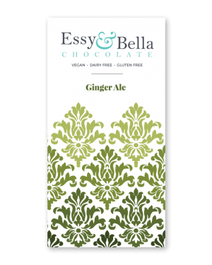 Essy & Bella Dairy & Gluten Free Ginger Ale Chocolate Bar 100g
