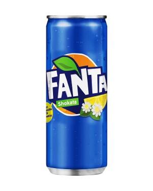 Fanta Shokata Elderflower Lemon 330ml Slim Cans