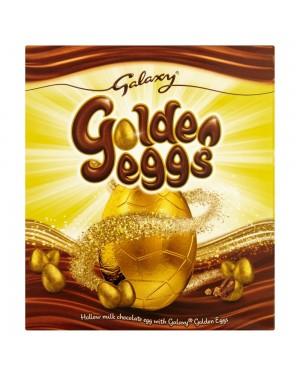 Galaxy Golden Egg 233G Uovo Di Pasqua Color Oro Con Cioccolato E Caramello Croccante