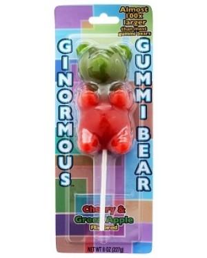 Ginormous Gummi Bear on a Stick