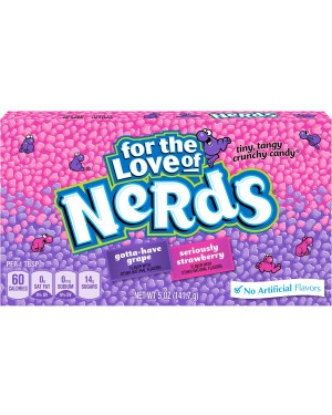 Grape & Strawberry Nerds  141g