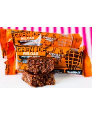 GRENADE RELOAD CHOCOLATE ORANGE BARS 70G