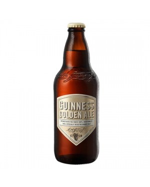 Guinness golden ale birra ambrata 500ml