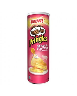 Pringles ham and cheese 165g