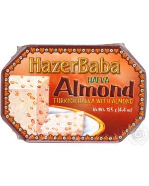Hazer Baba Halva, Almond 125G