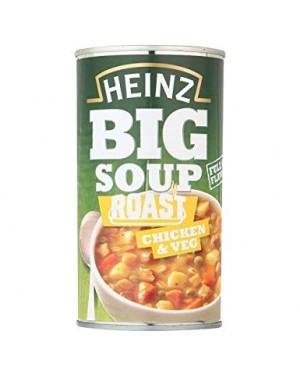 HEINZ BIG SOUP ROAST CHICKEN 500G