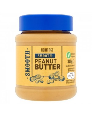 Heritage Smooth Peanut Butter 340g