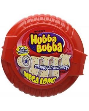 Hubba Bubba Strawberry Tape Gomma Da Masticare Metro Al Gusto Fragola
