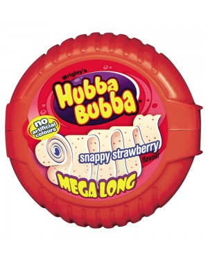 Hubba Bubba Seriously Strawberry Soft Bubble Gum