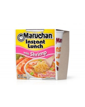 Maruchan Instant Shrimps Noodles Giapponesi Al Gusto Di Gamberi