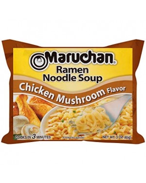 Maruchan Ramen Chicken And Mushrooms Noodles Giapponesi Al Pollo E Funghi