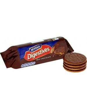 Mcvities Milk Choccolate Biscotti Di Frumento Ricoperti Da Cioccolato Al Latte