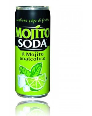 Lemonsoda mojito analcolico
