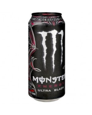 Monster ultra zero black cherry 473ml