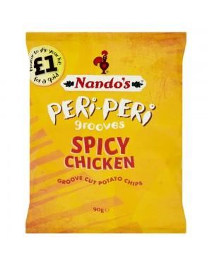 Nandos Crisp Chicken 90G Patatine Al Sapore Di Pollo Crocante
