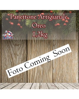 Panettone Artigianale Oreo 1.200 Gr Senza Canditi