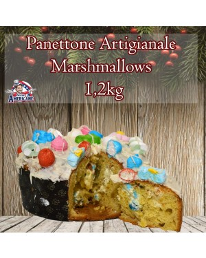 Panettone Artigianale Marshmallows 1.200 Gr Senza Canditi