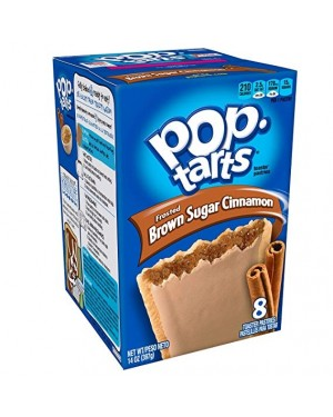 PopTarts Frosted Brown Sugar Cinnamon 397g