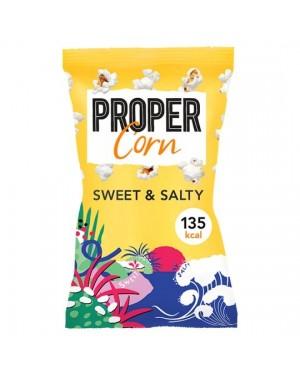 Proper Corn Sweet And Salty Popcorn In Busta Dolci E Salati