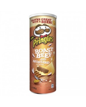 Pringles roast beef and mustard 175g