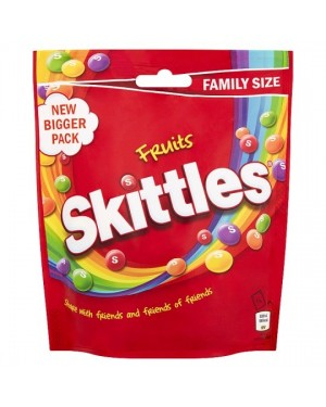 Skittles Fruits Caramelle Morbide Alla Frutta Gusto Original 196G