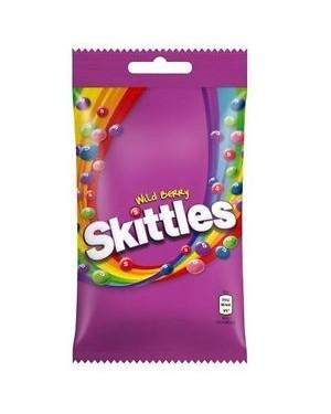Skittles Wildberry Caramelle Morbide Ai Frutti Di Bosco 125G